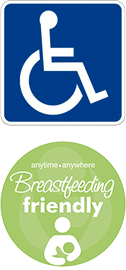 CBRM Supports wheelchair accessibility and is Breastfeeding Friendly